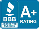 Better Business Bureau Accredited Business A+ Rating